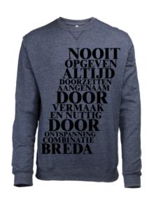 NooitOpgeven-navysweater_voor